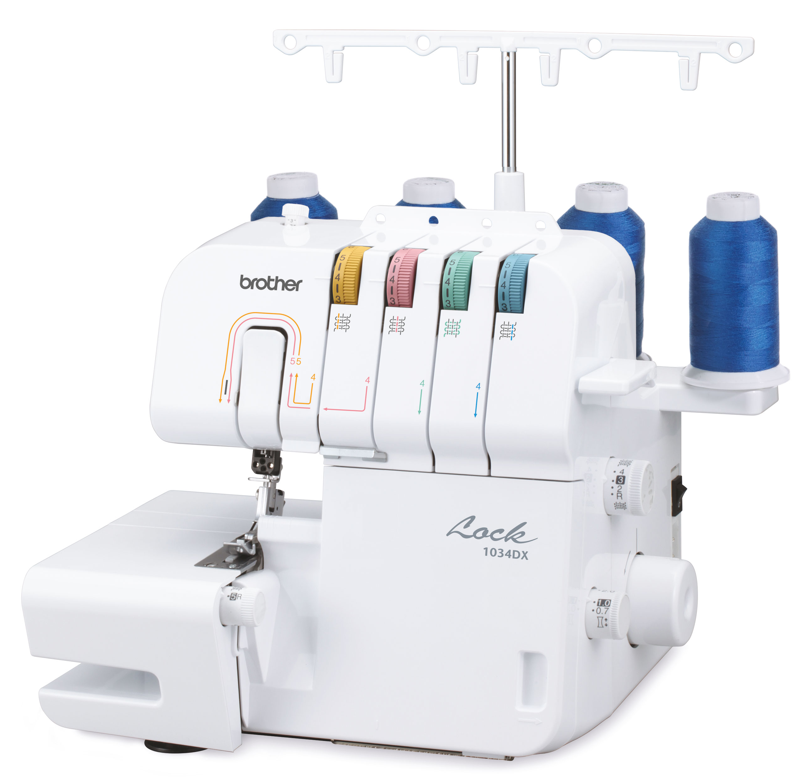 BROTHER OVERLOCK 1034DX